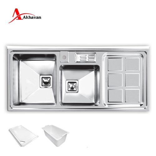 سینک ظرفشویی روکار مدل 320