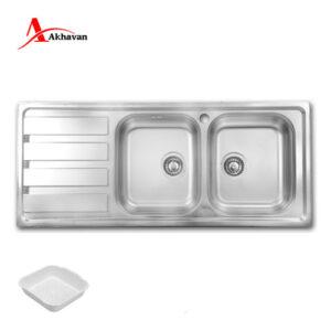 سینک ظرفشویی 385S اخوان با مشخصات کامل
